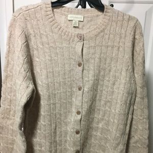 Appleseed's Beige Sweater